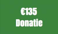 135 Euro donatie